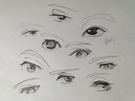 Eyes compilation by milchaotic