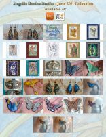 June Collection - 2011 by Angelic-Artisan