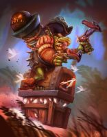 Gobelin hearthstone contest by Frakkasse