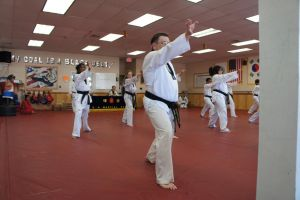 Oct-2014 black belt  test pic 12 by kefkaRaiders
