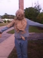 silly ol' scarecrow by ObsidianEnderman