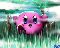 Kirby by Rainpaw7