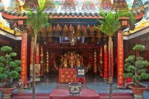 Malaysian Temple by Falassion
