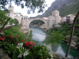 Old Bridge Mostar by bluebruises