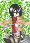 Mikasa - The Forest by DevilishMirajane