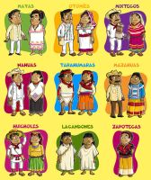 Ethnic groups by Diser25