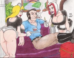 Hellfire Maids 4 by Crash2014