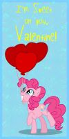MLP Valentine Pinkie Pie 2 by JiMMY--CHaN