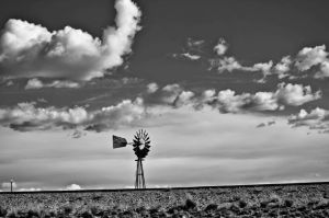 Wild West Windmill by LightofLunaPhoto