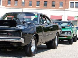 '68 Charger_'70 Coronet by DetroitDemigod