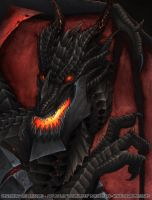 Deathwing Portrait by lizardbeth