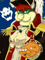 Bowser-Take my Pirate hand by King-BowserKoopa
