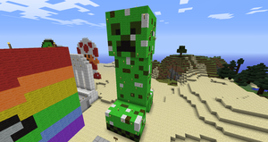Minecraft: Giant Creeper by Chaoslink1
