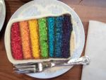 Rainbow Cake (Choi Hung Cake) by xFlowerstarx