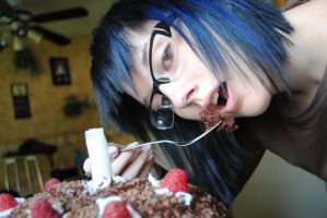 the cake... by SeiakuCosplay