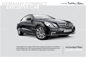 Germany compact executive car by VectorRoom