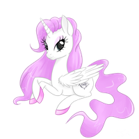 Angel pony oc by Rarity-Princess