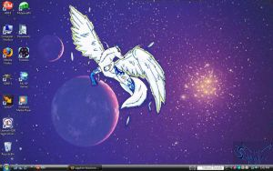 My desktop screenshot by sapphire-blackrose