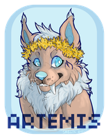 Artemis Badge by royelty