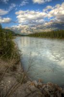 Athabasca River by Azagh