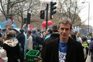 Peter Capaldi at The Wave by demonlight