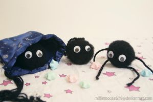 Soot Sprites in a Sack by milliemouse579