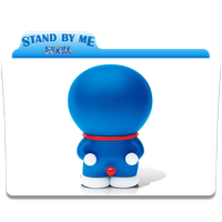 Icon Folder Stand By Me Doraemon by Nialixus