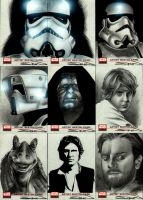 Star Wars Galaxy 4 Set 3 by RandySiplon