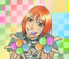 Lollipop. Young Badou by padmenvy