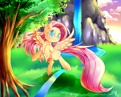 Fluttershy (MLP) by AquaGalaxy