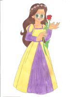The Fair Maiden and the Rose by animequeen20012003