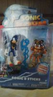 Sonic Boom Sonic And Sticks Figure!!! by OceanMelodyUnicorn