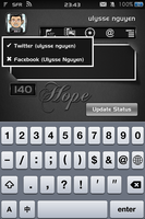 qTweeter skin for Hope by ulysseleviet