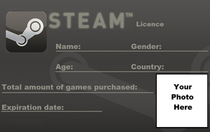 Steam License - Blank (OUTDATED) by Cowboygineer