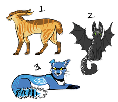 Point Adoptables :3 - CLOSED. by RaucousRufus