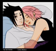 Hug laz_ Sasusaku_Colors by marizce