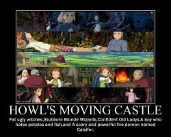 Howl's Moving Castle by starstreet678