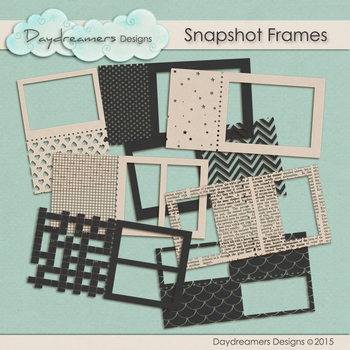 Snapshot Frames by DaydreamersDesigns