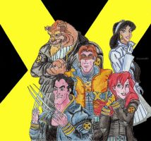 Disney-Non Disney  -X-Men- by Larocka84