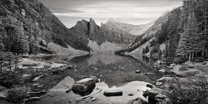 Lake agnes by m-ozgur