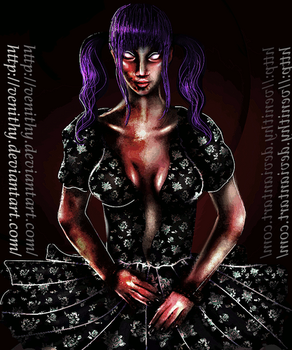 Another Creepy Doll[GIF][Premade for Sale] by Venithy