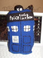 TARDIS crochet No.1 by Hermione25