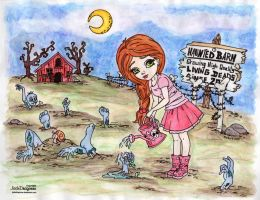 Coloring Contest: Zombie Farm by strryeyedreamr27