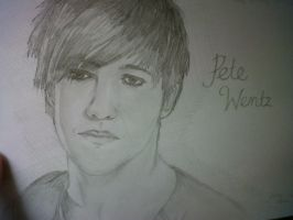 pete wentz by Hannahhbananahh