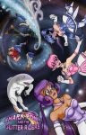Sharkpony and the Glitter Riders Cover Issue 1 by neilak20
