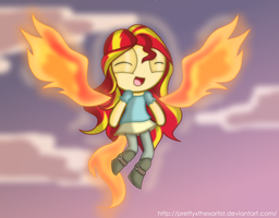 Cause My Past Is Not Today! - Sunset Shimmer by PrettyXTheXArtist