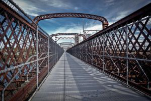 Meadowbank Bridge - Southbound by mtknot