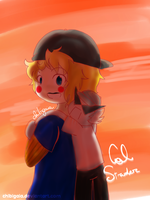 Cal and Bro by ChibiGaia