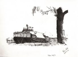Panther Ausf A by Einsklein