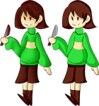 Style Practice: Chara by hauntingMusician